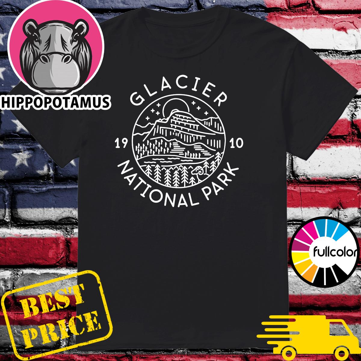 Official Glacier 1910 National Park Shirt