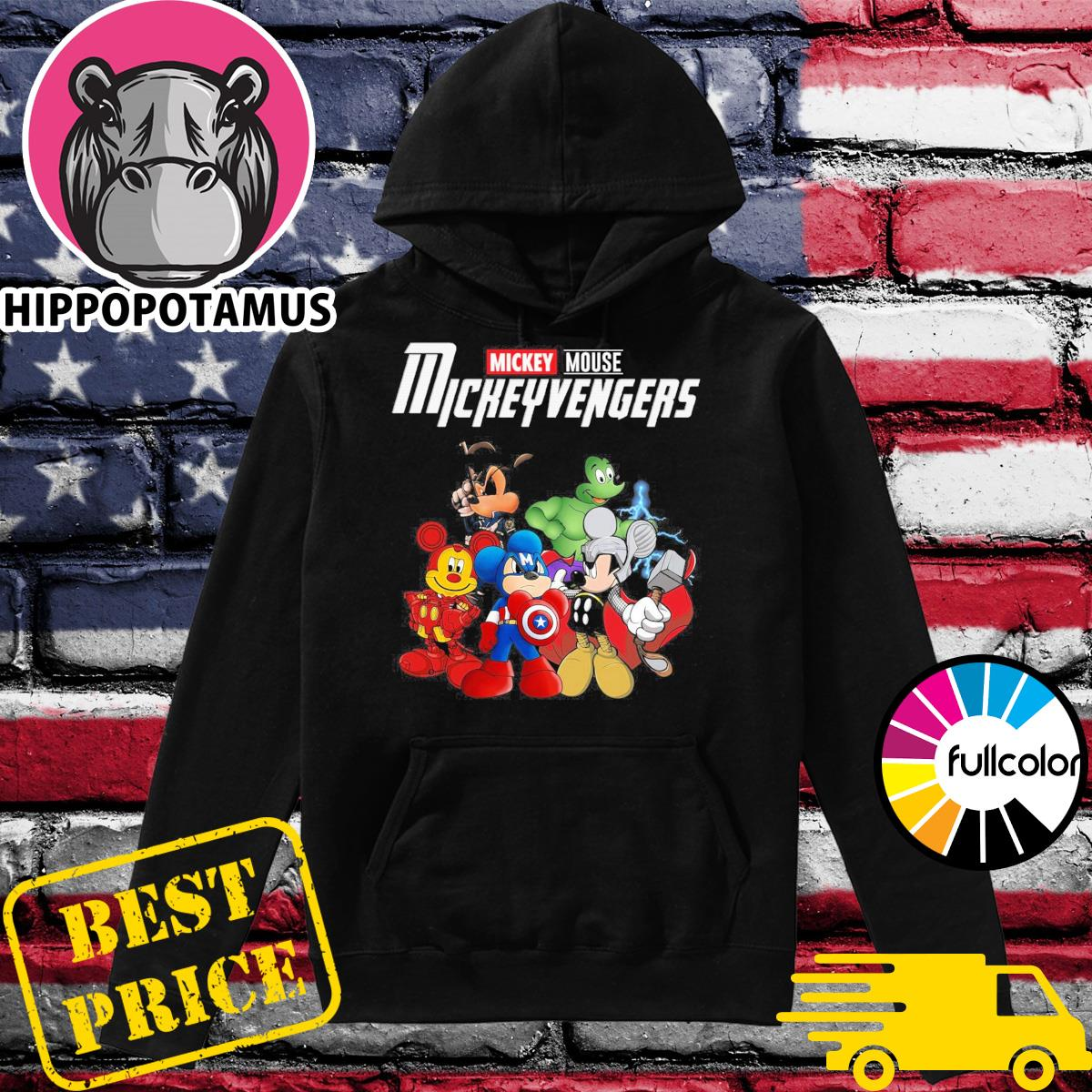 Official Mickey Mouse Mickeyvengers Shirt Hoodie