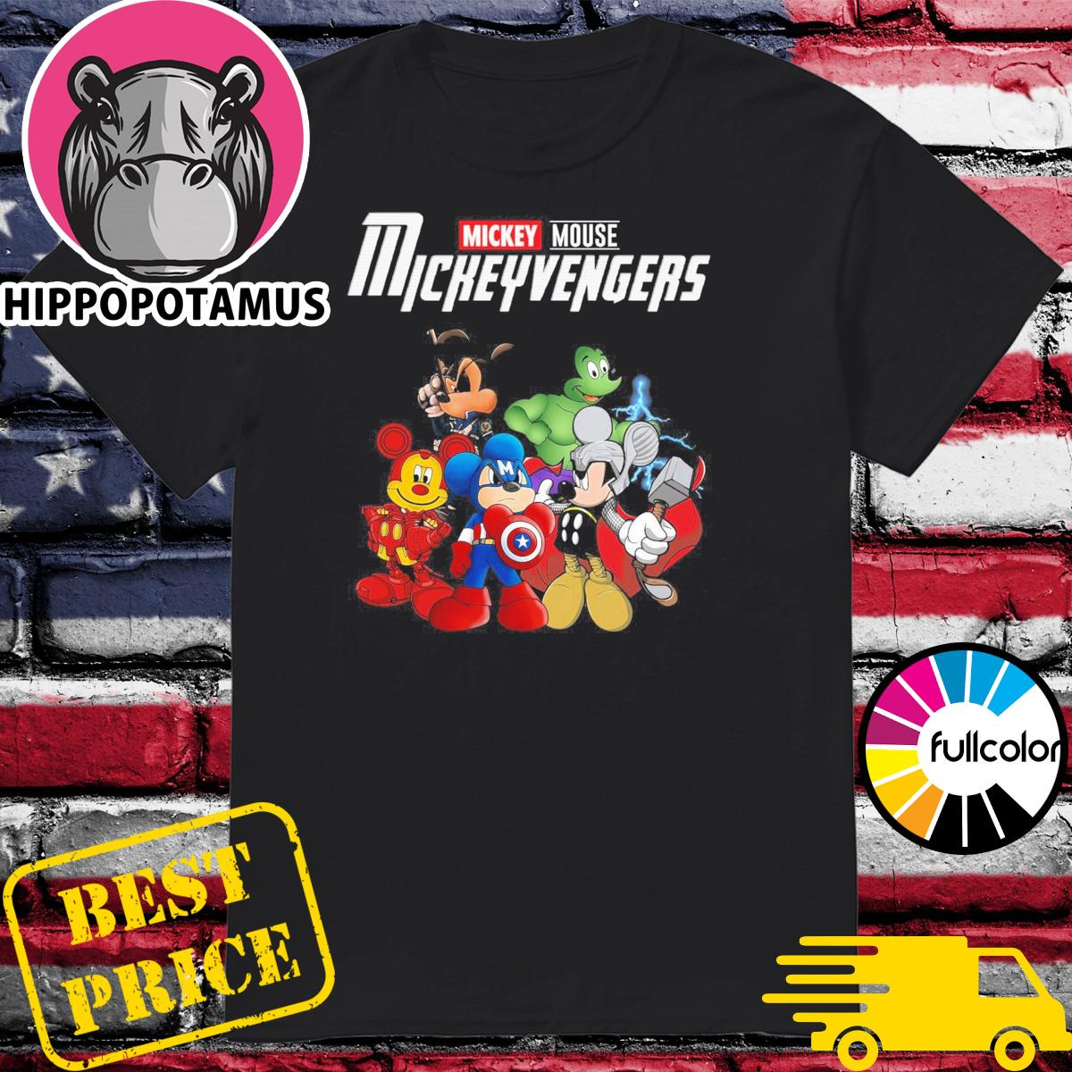 Official Mickey Mouse Mickeyvengers Shirt