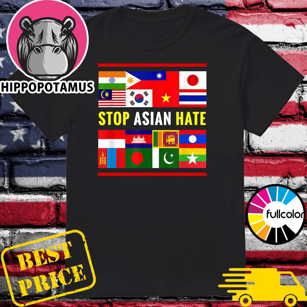 Official Stop AAPI Hate Support - Asian Discrimination Shirt