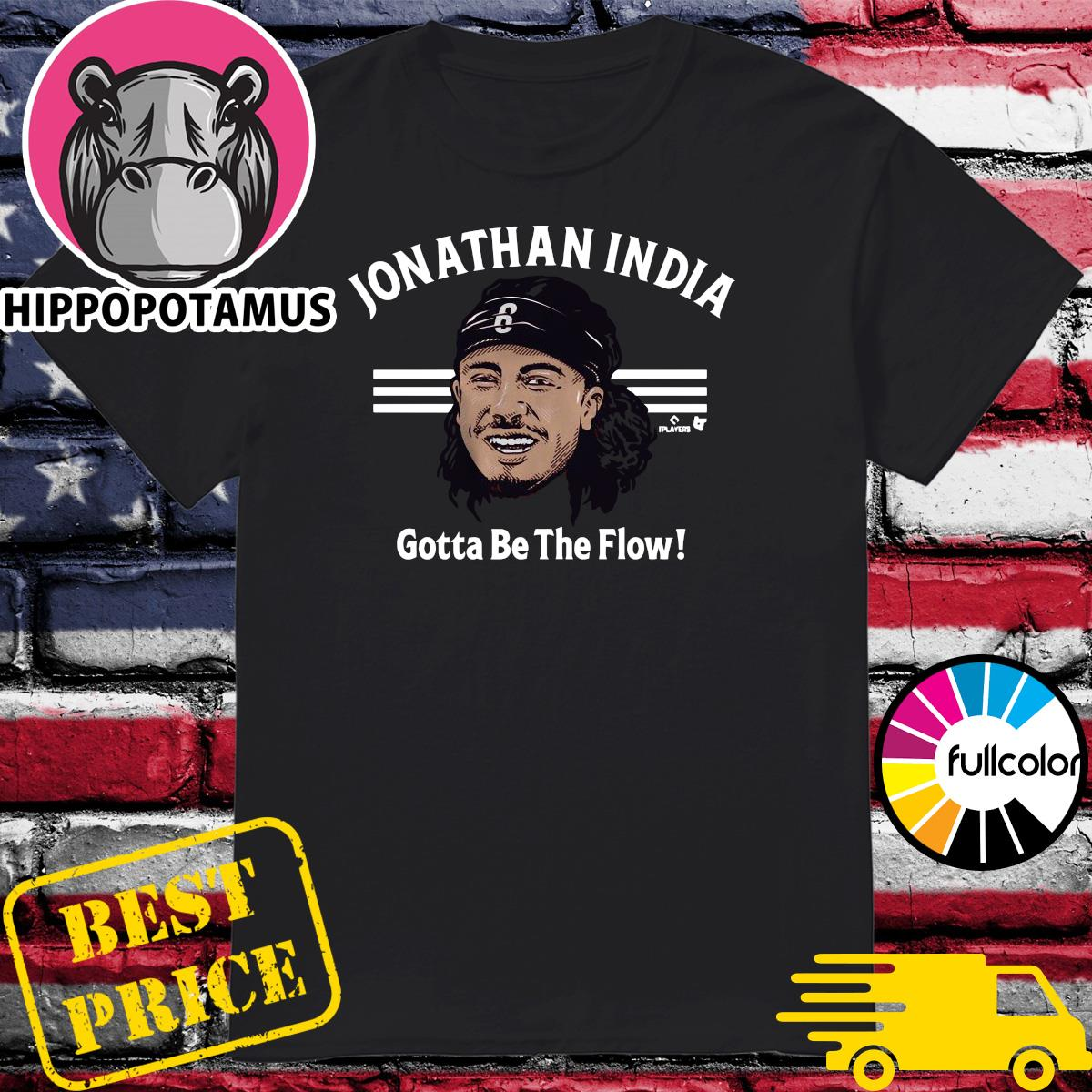 Official The Jonathan India Gotta Be The Flow Shirt