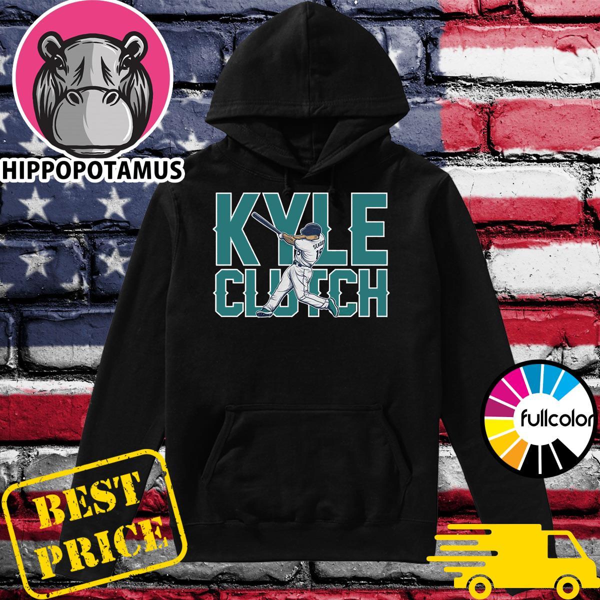 Official The Kyle Clutch Baseball Shirt Hoodie
