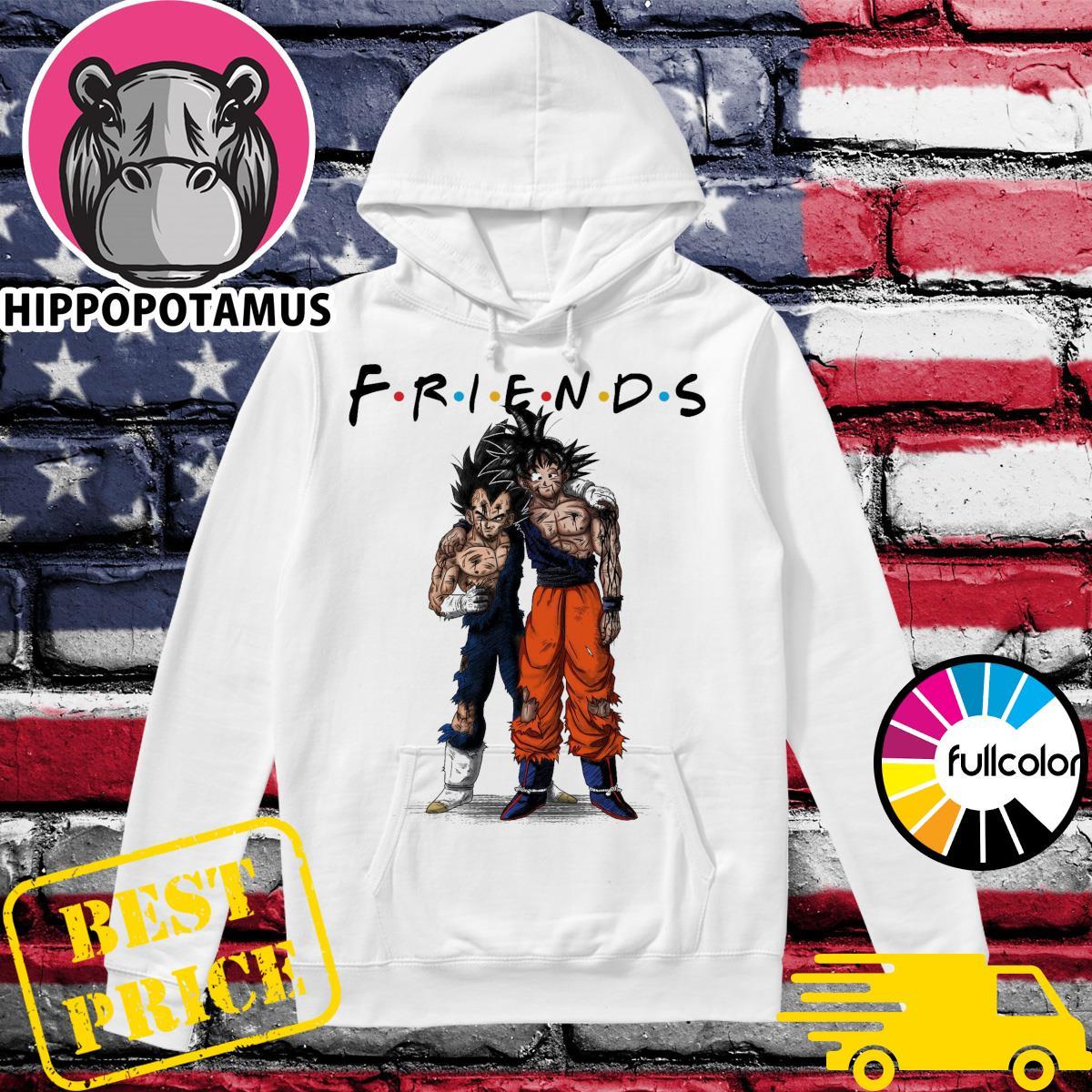 Friends Vegeta and Songoku stan by stan Hoodie