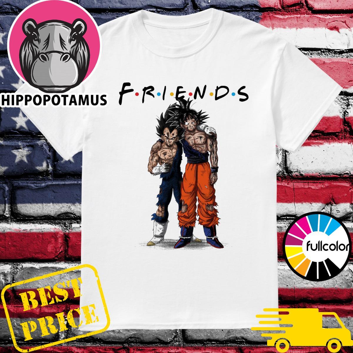 Friends Vegeta and Songoku stan by stan shirt