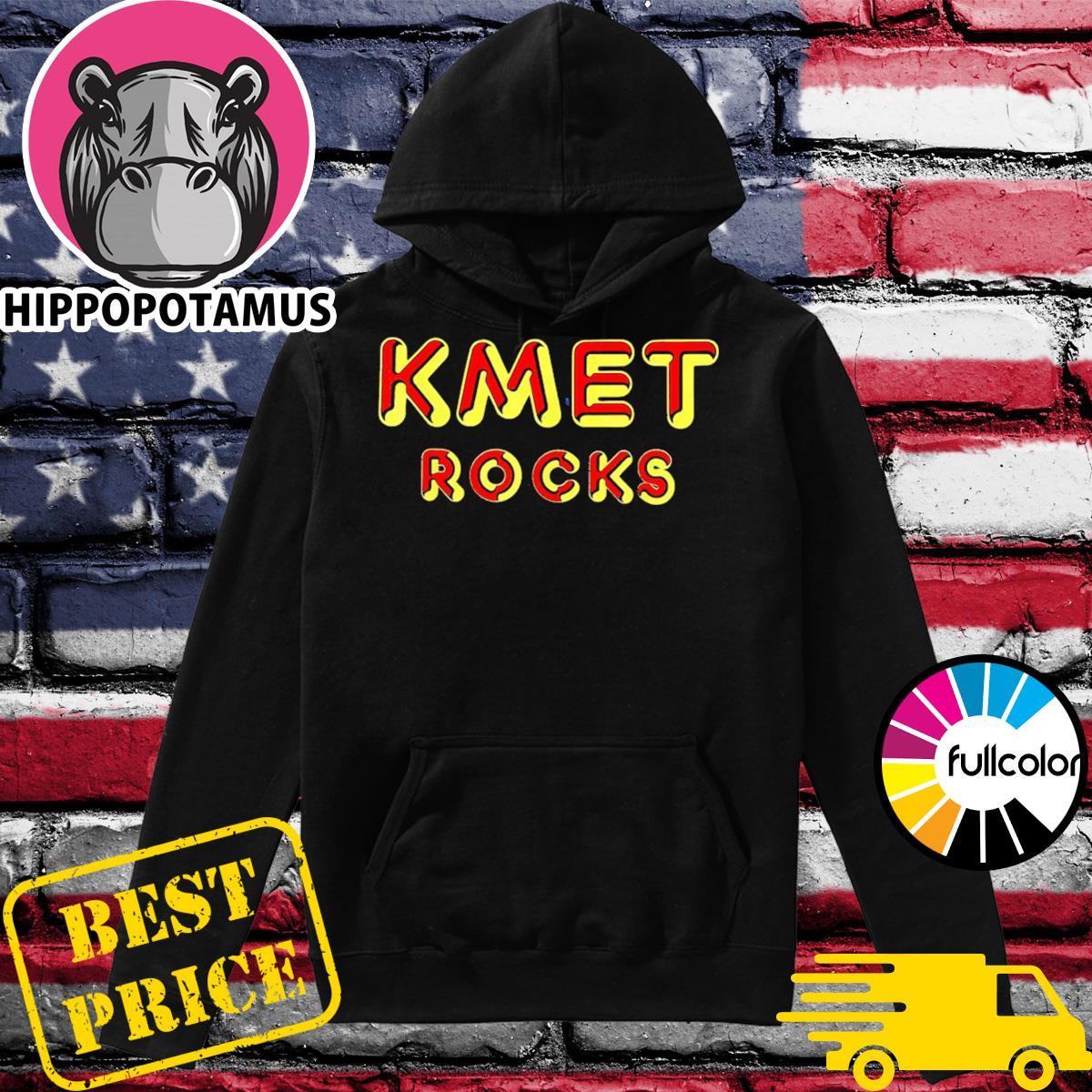 KMET Rock Shirt Hoodie