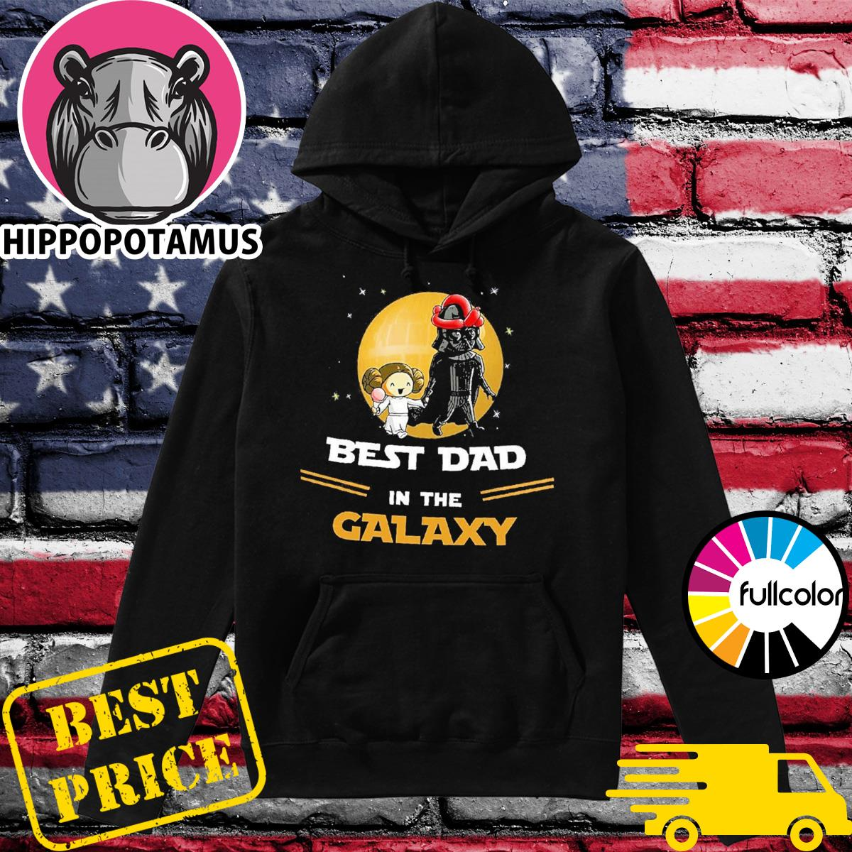 Official Star Wars Darth Vader Best Dad In The Galaxy Shirt Hoodie