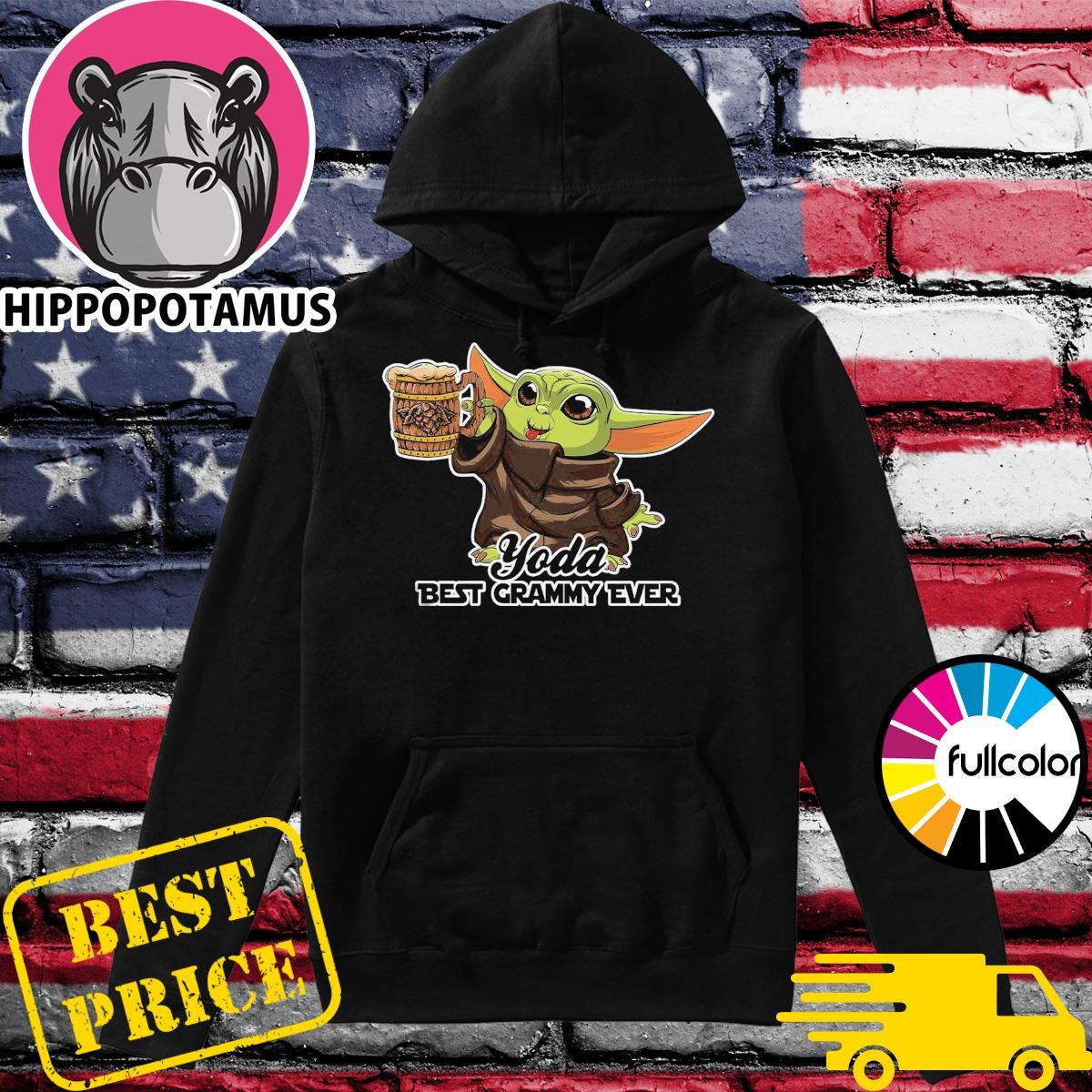 Star Wars Baby Yoda Best Grammy Ever Shirt Hoodie