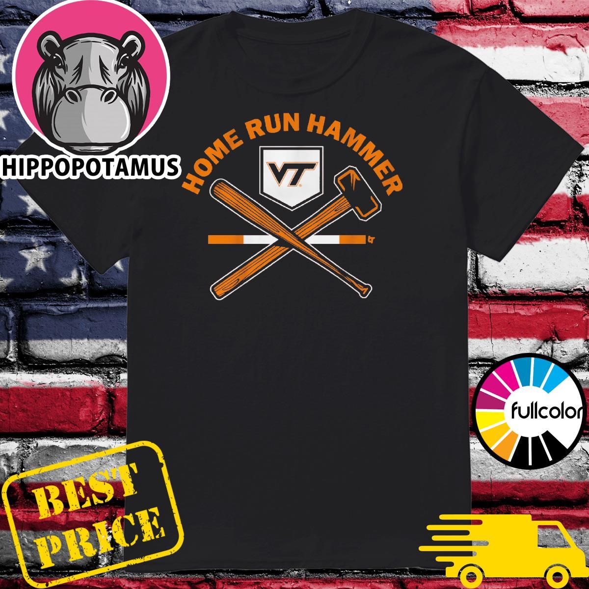 Virginia Tech Baseball Home run hammer shirt